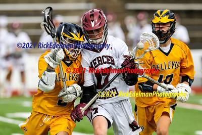 Bellevue @ Mercer Island Men's JV Lacrosse