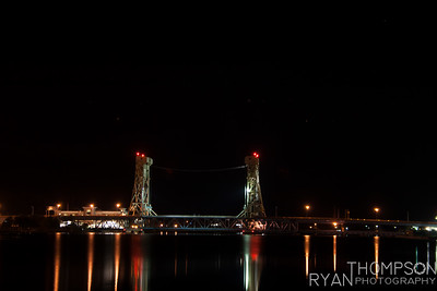Portage Lift Bridge Night Shots