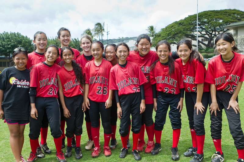 2012 'Iolani Intermediate Red
