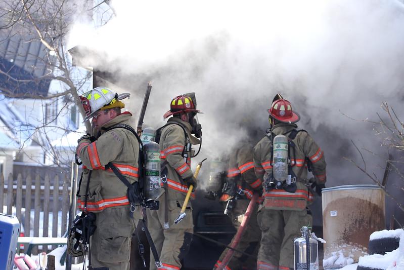 2013 1-18 Fire On Liberty Street - Barre, VT