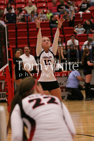 Mena vs Booneville - LadyCat JV Volleyball 2012