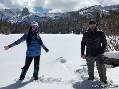 2020-03-27 Twin Lakes to Lake Mamie & Panorama Dome Social Distancing)