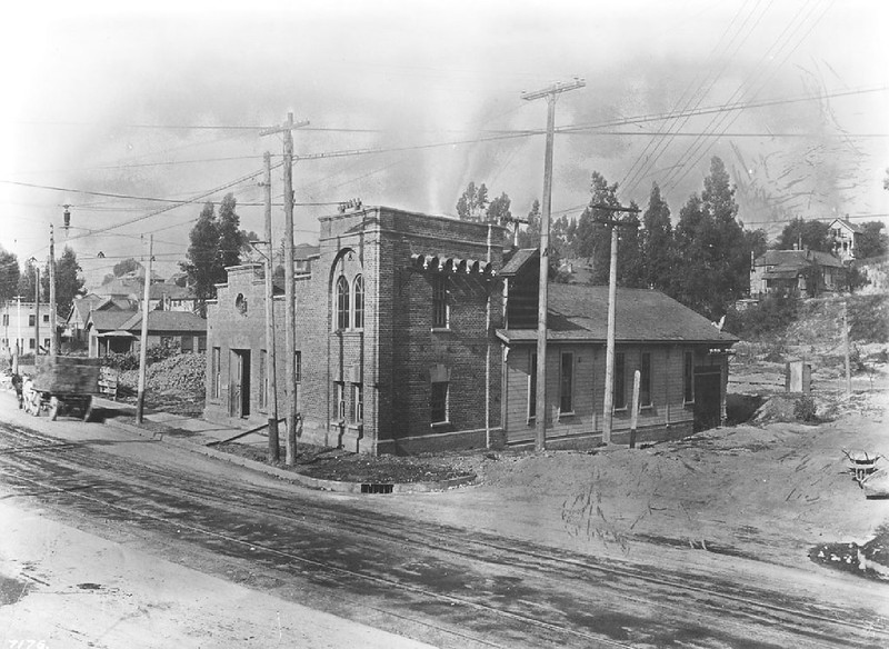 Pacific Electric Power House on Boylston and Second Street, ca.1905