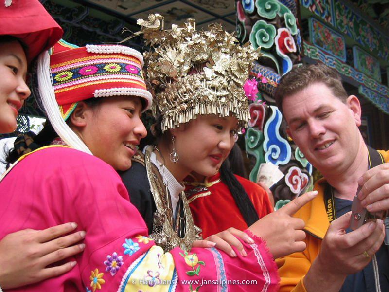China,  Yunnan,  Lijiang, Black Dragon Pool Park
