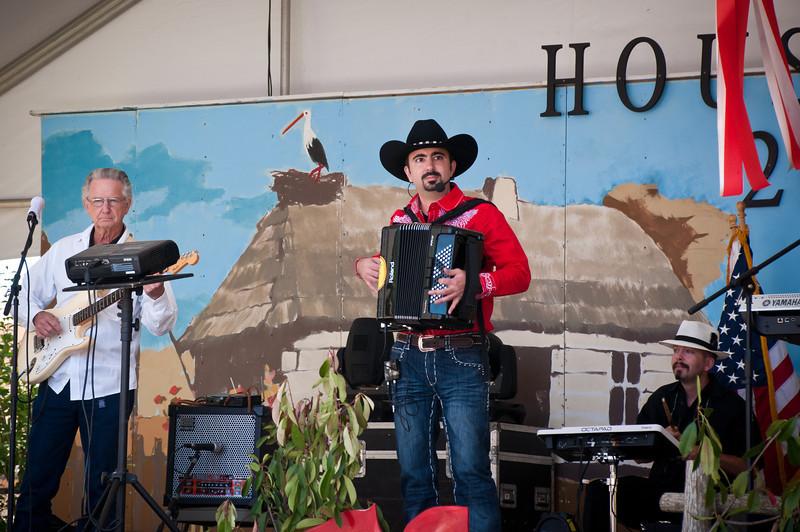 Chris Rybak At Houston Polish Festival