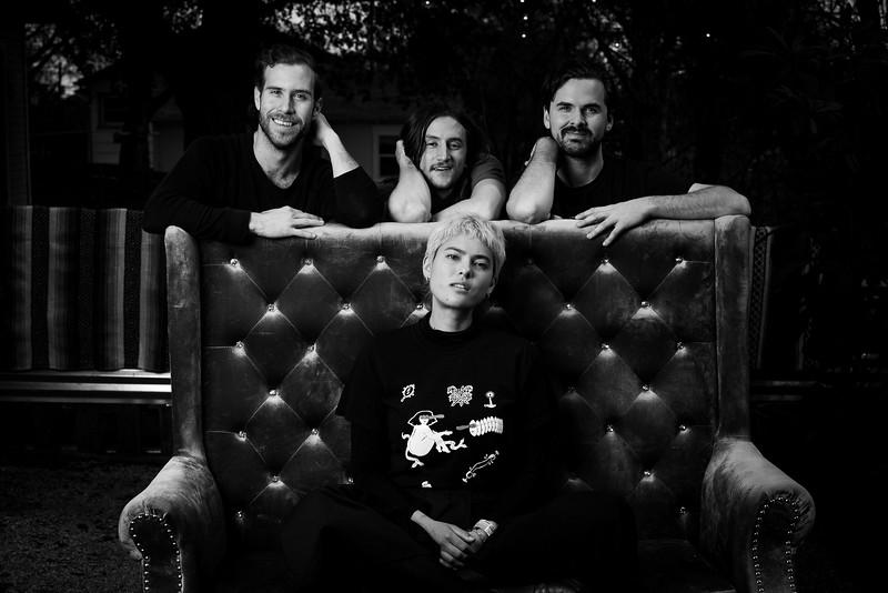 Miya Folick and band