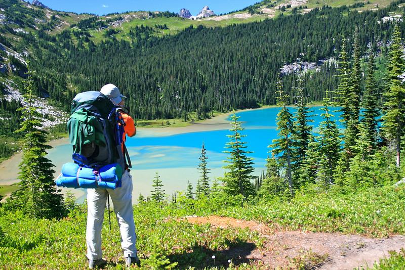 Lower Lyman Lake view.
