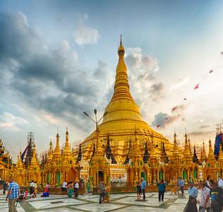 Around Myanmar