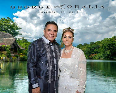 George and Oralia Wedding