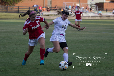 CPA HS Girls Soccer vs. Page HS