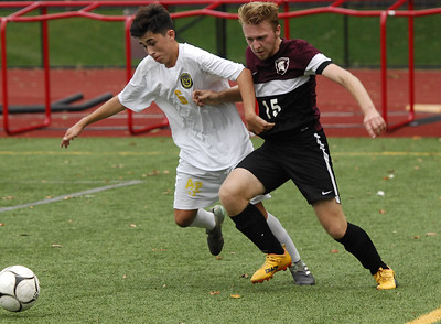 Averill Park at Burnt HIlls-Ballston Lake boys soccer Oct. 4