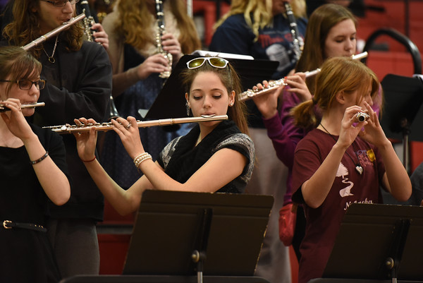 Pep Band -Elkhorn South, 1-16-15