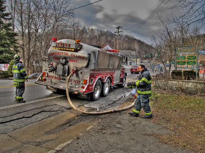 3-4-12 Mutual-Aid Structure Fire, Putnam Valley