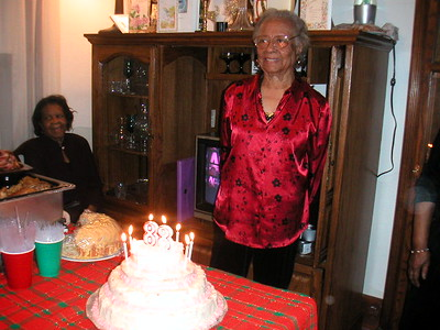 Grandma Graham's 88th Birthday 2003