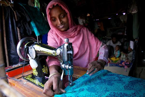 011- Utilizing skills to earn money for children & family.