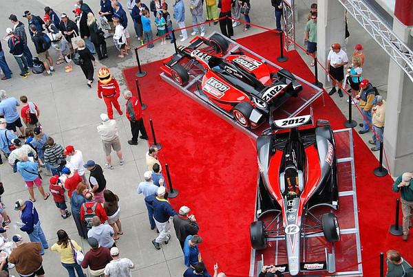 2011 Indy 500 AJ Foyt Day