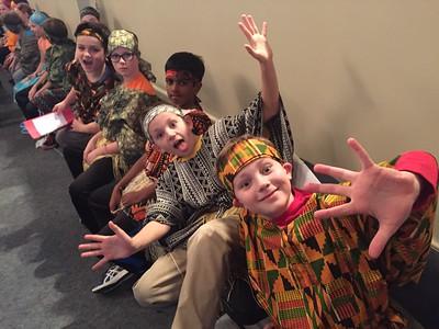 3rd Grade African Dance!
