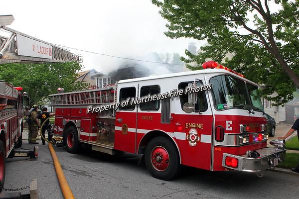 Providence- 2nd Alarm- Nelson Street- 5/21/16