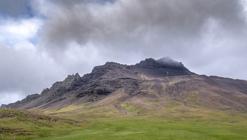 Stokksnes Mountains     Photography by Wayne Heim