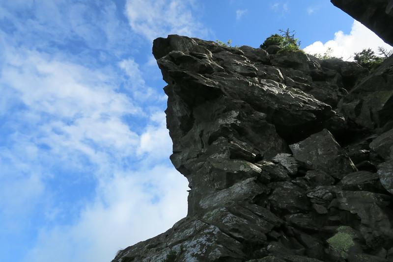 Grandfather Trail -- The Chute -- 5,760'