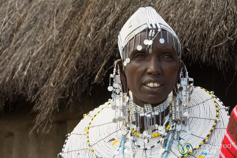 Mela, Maasai Woman - Tanzania