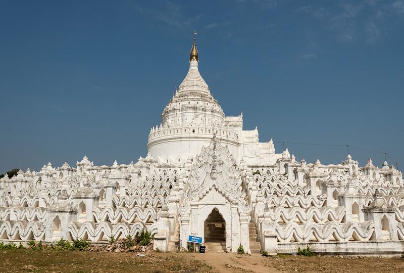 Hsinbyume Pagoda, Mingun, Burma (Myanmar)