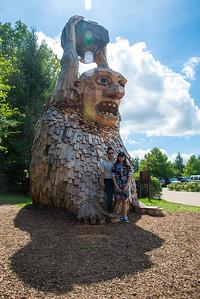 Morton Arboretum Troll Hunt