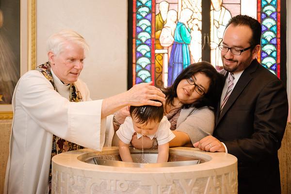 Joaquin's Baptism