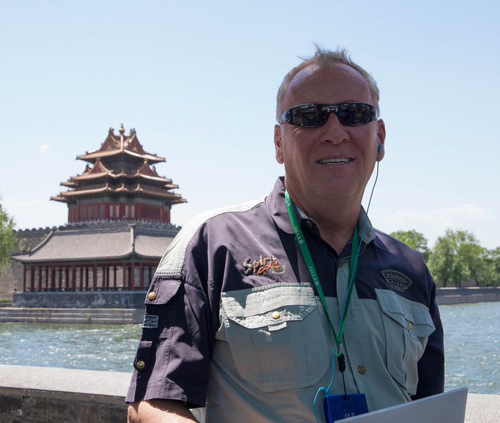 Tauck Tour Director, Chuck Olmsted of Vancouver, British Columbia by way of Chiang Mai, Thailand