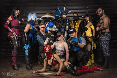 Inked and Geeked Cosplayers