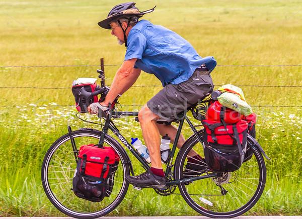 Bike Route 76 and TransAmerica Trail - in Missouri