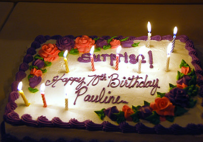 Pauline's 70th Party