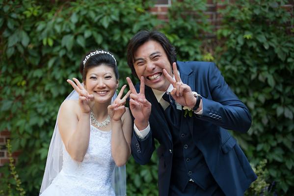 Mikiko and George's Old Mill Inn Toronto Wedding