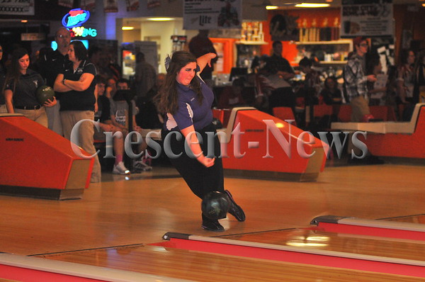02-17-17 Sports Girls D-II sectional Bowling @ Napoleon