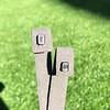 .98ctw Emerald Cut Diamond Bezel Stud Earrings, Black Finish 9