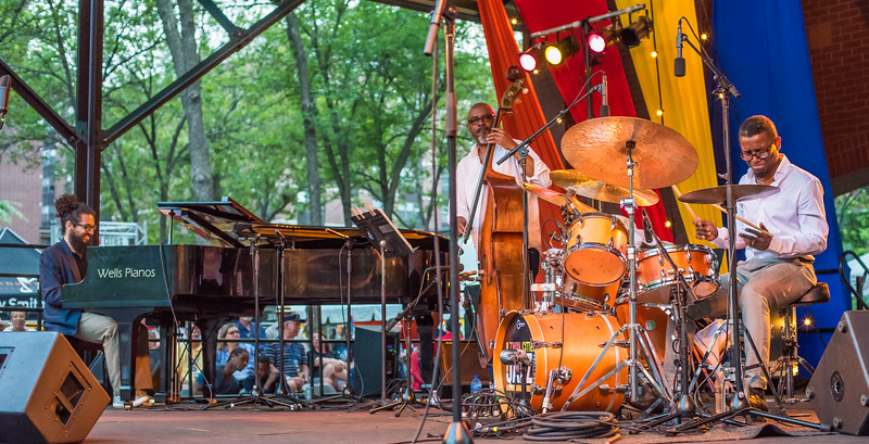 Francisco Mela's Crash Trio-Mears Park, St. Paul.