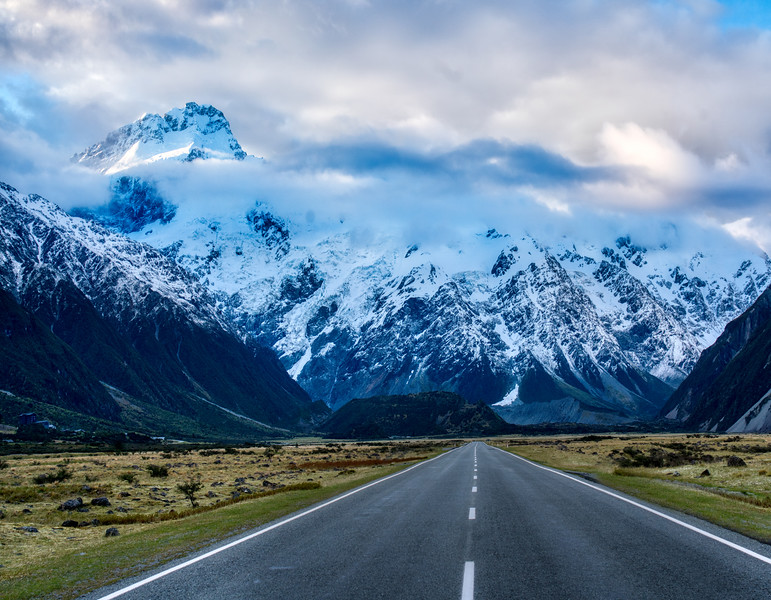 Road Trip to Mount Cook