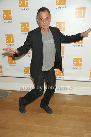 Tony Danza does a little soft shoe after his performance in   Celebrity Autobiography at Guild Hall on August 22, 2014 in East Hampton.  credit:SocietyAllure.com/Rob Rich