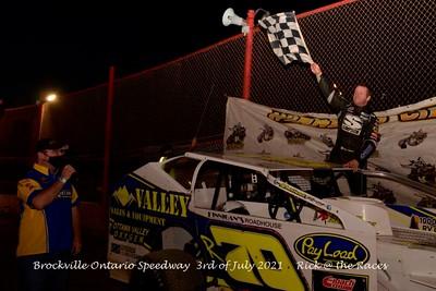 Brockville Ontario Speedway - 7/3/21 - Rick Young