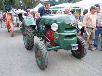 Tractors in Belgium