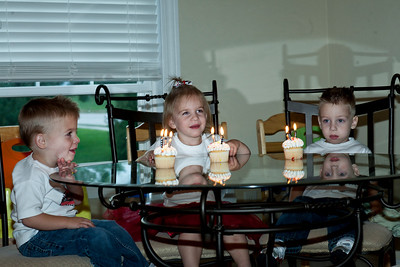 Cory, Kelen, Ella's Third Birthday