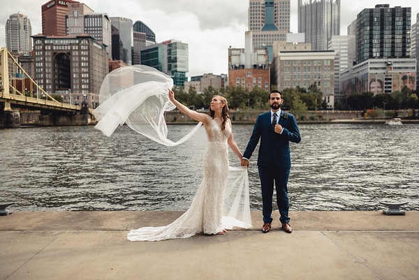Cassidy + Saied Luxury Strip District Wedding