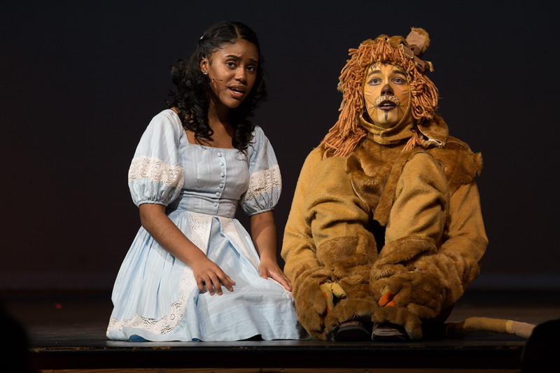 """""""Be a Lion"""" -- """"The Wiz"""", Montgomery Blair High School spring musical, March 26, 2017"""