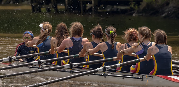 Pittsford Regatta - Novice girls FIRST PLACE