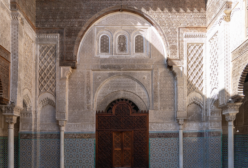 Al-Attarine Madrasa in Fes