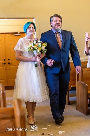 Wedding of Bill Knutson & Ariel Verbeten - October 18, 2021