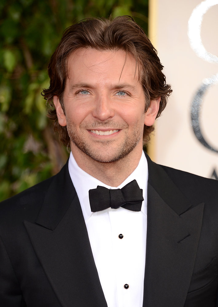 . Actor Bradley Cooper arrives at the 70th Annual Golden Globe Awards held at The Beverly Hilton Hotel on January 13, 2013 in Beverly Hills, California.  (Photo by Jason Merritt/Getty Images)