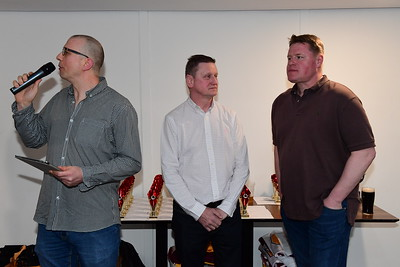 Presentation Evening 21st April 2018