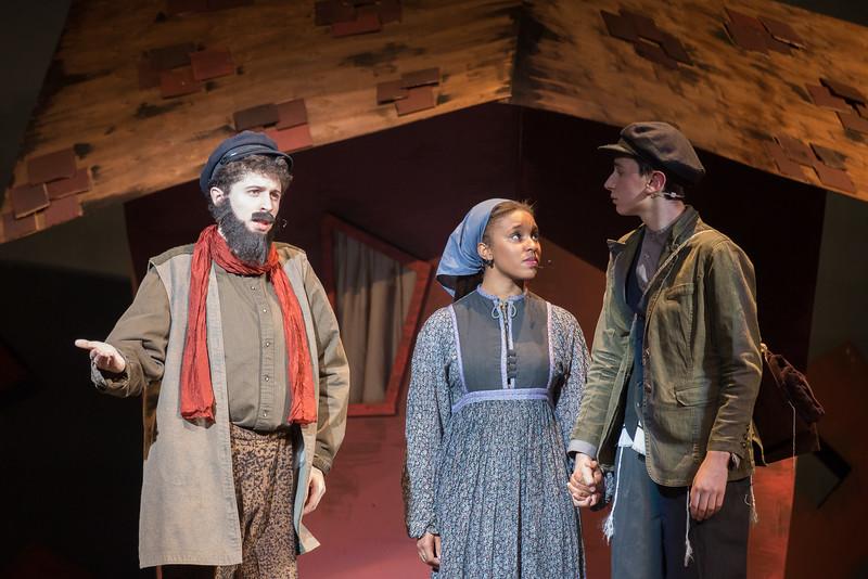 "Tevye, Hodel, and Perchik, ""Tevye's Rebuttal"" --Fiddler on the Roof, Montgomery Blair High School, April 24, 2015"