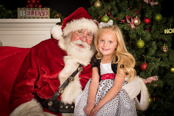 Photos with Santa 2017